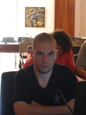 Simon est concentré...